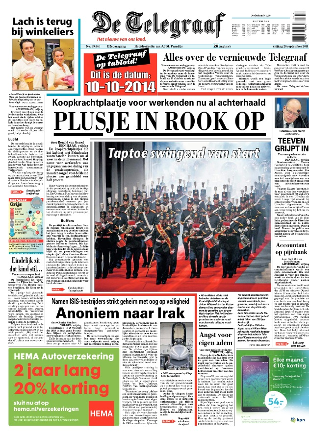 telegraaf bernardo 29 sept 2014