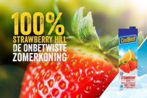 Kom StrawberryHill proeven bij Bernardo's!